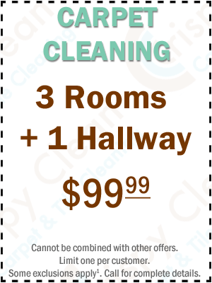 Carpet Cleaning Coupon - 3 Rooms