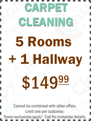 Carpet Cleaning Coupon - 5 Rooms