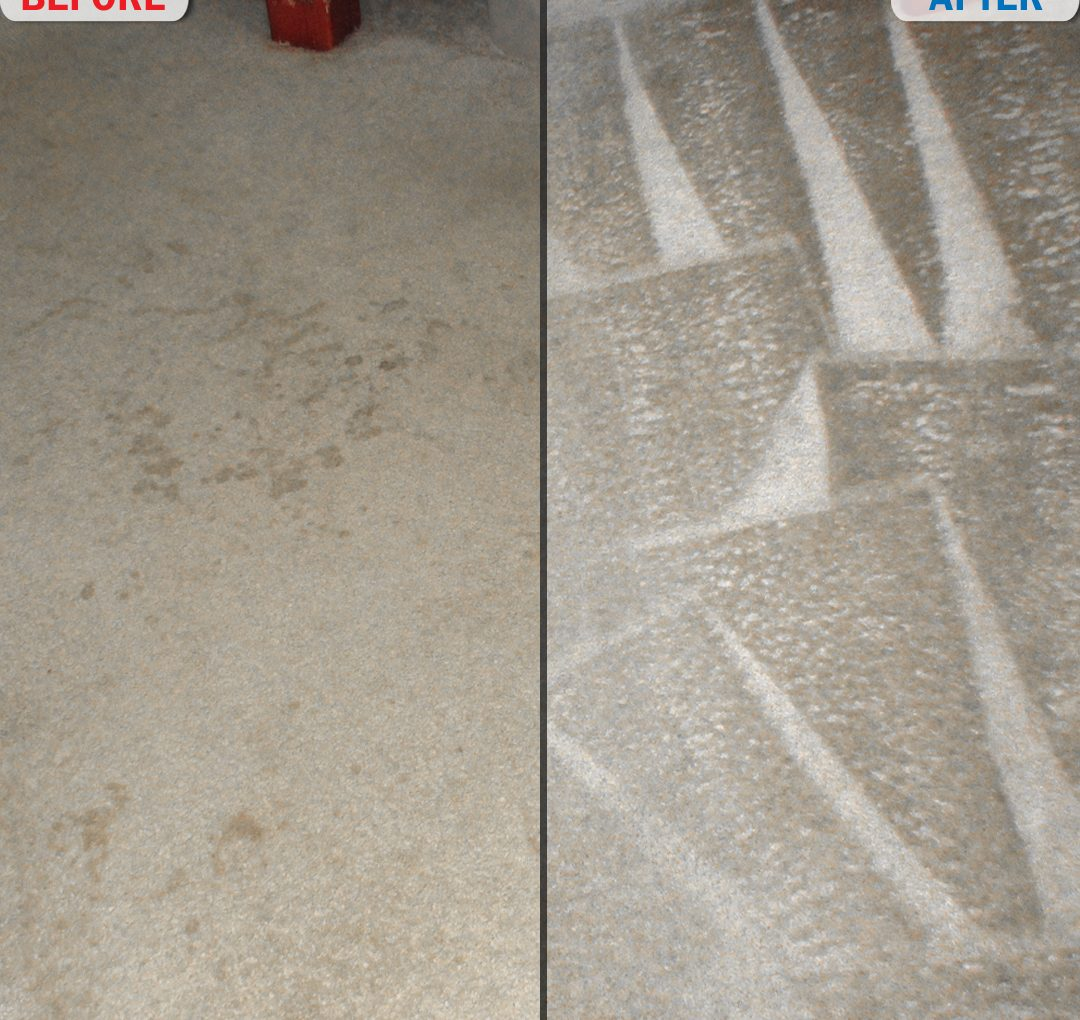 Bedroom Carpet Before and After Photo 2